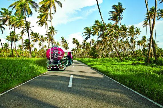 Manzanilla with NP truck